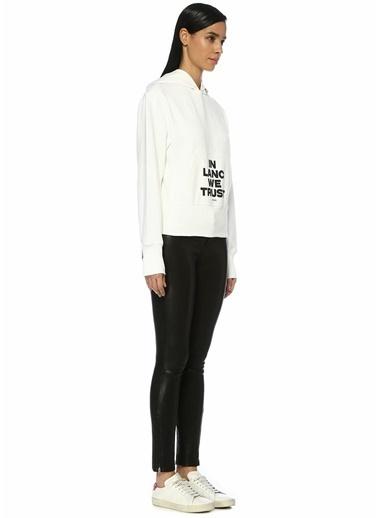 Helmut Lang Sweatshirt Beyaz